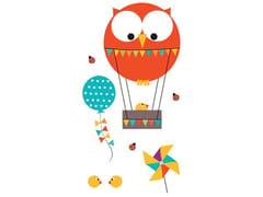 Adesivo da parete per bambiniPIOU MONTGOLFIERE | Adesivo da parete - ACTE DECO