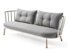 Kun Design, PIPE | Divano da giardino a 3 posti  Divano da giardino a 3 posti