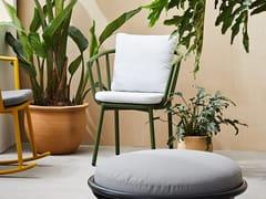 Sedia da giardino con braccioliPIPE | Sedia - KUN DESIGN FURNITURE