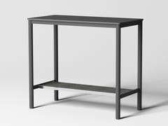 Tavolo rettangolare alto in acciaio con piano in MDFPIPE | Tavolo alto - GRADO DESIGN FURNITURES