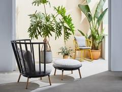 Sedia a dondolo da giardino con braccioliPIPE | Sedia a dondolo - KUN DESIGN FURNITURE