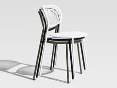 Sedia in acciaio inox PIPER | Sedia - Piper