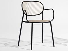 PIPER | Sedia con braccioli