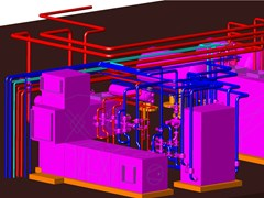Disegno costruttivo di centrali termiche PIPING -