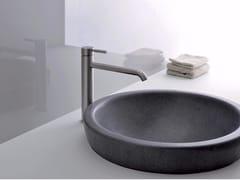 Miscelatore per lavabo da piano monocomando in acciaio inox PIX | Miscelatore per lavabo - Pix