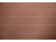 Pannello con effetti tridimensionali per facciate in cemento fibrorinforzato per esterniPIZ STRIPED FINISHING SURFACE - PIZ