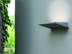 Lampada da parete a LED a luce indiretta in cementoPLAN - MARTINELLI LUCE