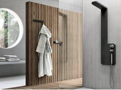 Colonna doccia a parete con doccettaPLANE - GRUPPO GEROMIN