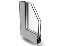 Finestra a battente a taglio termico in alluminioPLANET 50 PLUS - ALSISTEM