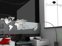 Orologio in acciaio inox da paretePLANISFERO M | Orologio - CARLUCCIO DESIGN
