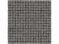Mosaico in gres porcellanatoPLASTER | Mosaico 1,5x1,5 Anthracite - MARAZZI GROUP