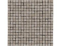 Mosaico in gres porcellanatoPLASTER | Mosaico 1,5x1,5 Taupe - MARAZZI GROUP