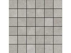 Mosaico in gres porcellanatoPLASTER | Mosaico Grey - MARAZZI GROUP