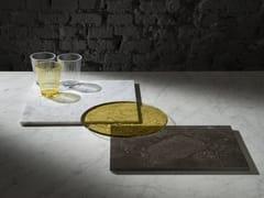 Vassoio in pietra e vetro PLAT-EAU Glass - PLAT-EAU