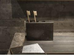 Portaspazzolino da appoggio in marmo PLAT-EAU Bath 01 - PLAT-EAU