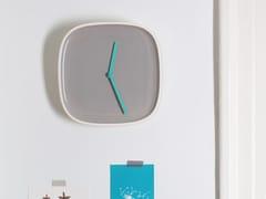 Orologio in ceramica da paretePLATE - TEO - TIMELESS EVERYDAY OBJECTS