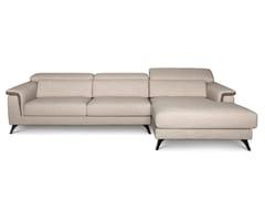 Divano reclinabile in tessuto con chaise longuePLATEALE 02 - FEBAL CASA BY COLOMBINI GROUP