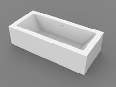 MOMA Design, PLATINUM TUB Vasca da bagno centro stanza rettangolare su misura