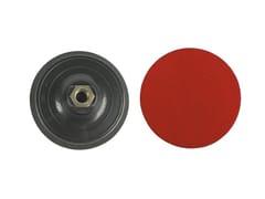 Platorelli per smerigliatrici con base velcrataPLATORELLI PLASTICA PPL VELCRATA - MAURER FERRITALIA