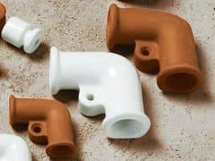 Passacavi a vista in ceramicaPLEIADI | Curva retta - ALDO BERNARDI