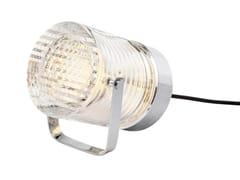 Lampada da tavolo a LED a luce diretta in cristallo in stile modernoPLEIN PHARE - COMPAGNIE DES CRISTALLERIES DE SAINT LOUIS