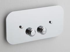 Placca di comando per wc in ottonePLGB02ORR | Placca di comando per wc - BLEU PROVENCE
