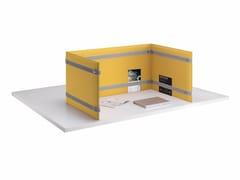 Pannello divisorio da scrivania fonoassorbentePLI DESK - CAIMI BREVETTI