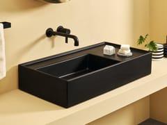 Lavabo da appoggio rettangolare in ceramicaPLINIO | Lavabo da appoggio - CERAMICA CIELO