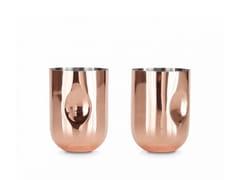 Set di bicchieri da cocktail in acciaio inoxPLUM MOSWCOW MULE - TOM DIXON