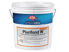 Fondo pigmentato a base di resine acrilichePLURIFOND W - ATTIVA