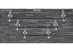Porta salviettaPLUS   Porta asciugamani in ottone cromato - COLOMBO DESIGN
