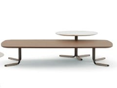 Tavolino basso rettangolarePLUTO | Tavolino rettangolare - ZANI COLLEZIONE POLTRONE DI ZANI PAOLA