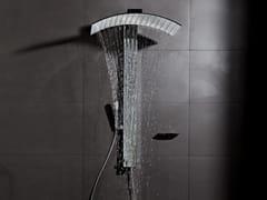 Colonna doccia a parete in ottonePLUVIA | Colonna doccia - TECH RAIN