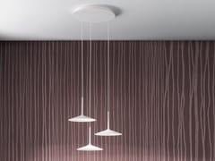 Lampada a sospensione a LED in acciaioPOE_P3 - LINEA LIGHT GROUP