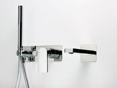 Set vasca a muro con doccetta POIS | Set vasca a muro - Pois
