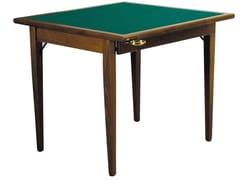 Tavolo da poker quadrato in legnoPOKER - FRATELLI DEL FABBRO