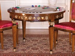 Tavolo da poker in legno masselloPOKER | Tavolo da gioco - ARVESTYLE