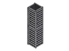 Cassero in acciaio per pilastriPOKER ROBUSTO - FARESIN FORMWORK