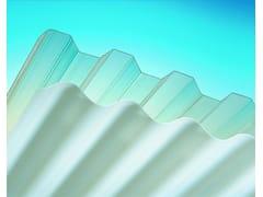 Pannello di copertura in laminato plastico traslucidoPOLICARBONATO COMPATTO GRECATO/ONDULATO - APA GROUP SPA