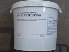 Impermeabilizzazione liquidaPOLIFLEX BIT FINISH® - SEICO COMPOSITI