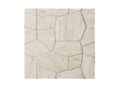 Mosaico in travertino POLIGONI | Mosaico in travertino - Design