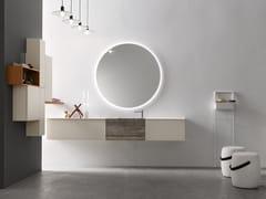 Sistema bagno componibile in legnoPOLLOCK - COMPOSIZIONE 61 - ARCOM
