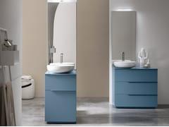 Sistema bagno componibile in legnoPOLLOCK - COMPOSIZIONE 72 - ARCOM