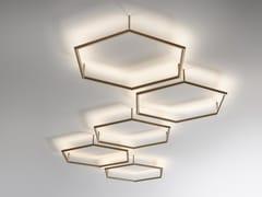 Lampada da parete / lampada da soffittoPOLY ESAGONO PL - OLEV