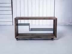 Carrello portavivande in legno masselloPOLYLINE HI-FI RACK - HOOKL UND STOOL