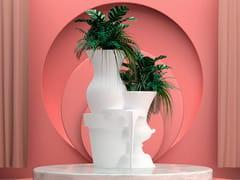 Fioriera / scultura in ghisaPOLYVASE - YO2