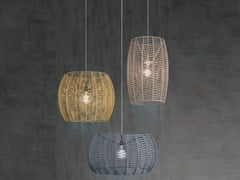 Lampada a sospensione / lampada a sospensione per esterno in cordaPOMA | Lampada a sospensione - FM ILUMINACIÓN