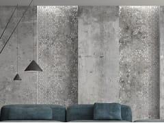 Arklam, POMPEIA DECOR Rivestimento in ceramica sinterizzata effetto cemento per interni