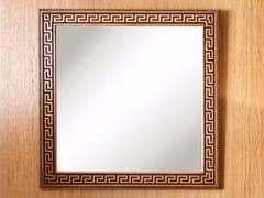 Specchio quadrato da parete con cornicePOMPEIVM | Specchio - ARVESTYLE