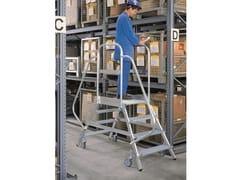 Scala professionale in alluminioPONTE - SVELT